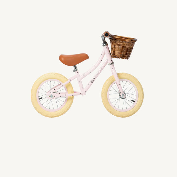 Banwood First Go Balance Bike - Bonton Pink Special Edition, Balance Bike, Banwood - All Mamas Children