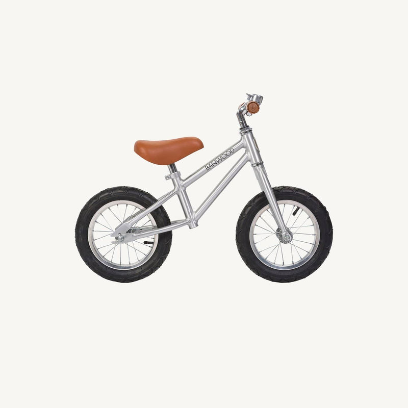 Banwood First Go Balance Bike - Chrome Special Edition, Balance Bike, Banwood - All Mamas Children