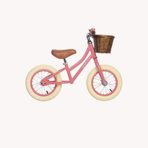 Banwood First Go Balance Bike - Coral, Balance Bike, Banwood - All Mamas Children