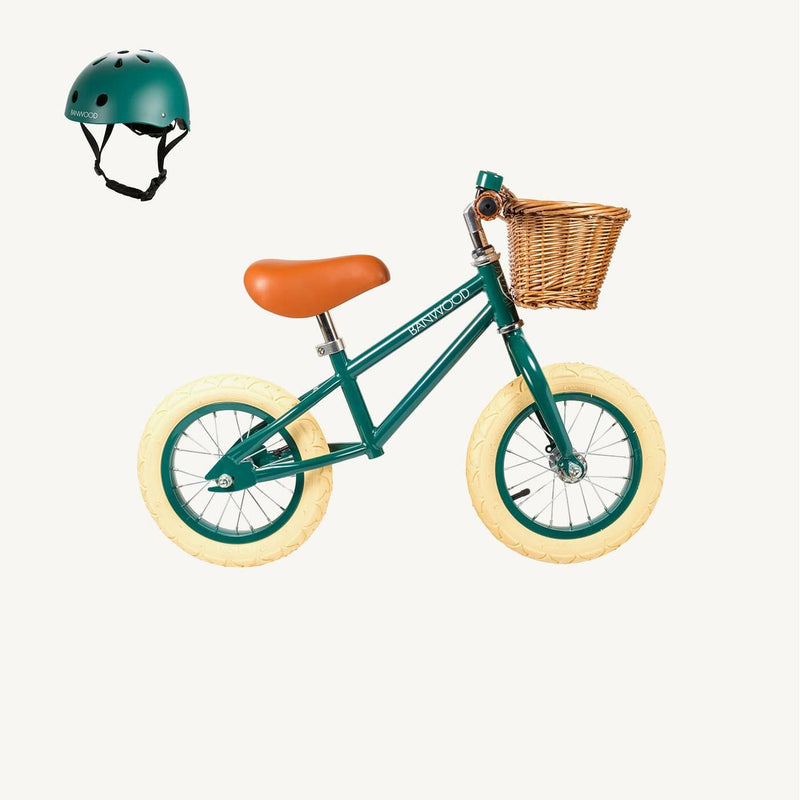 Banwood Helmet in Green, Balance Bike, Banwood - All Mamas Children