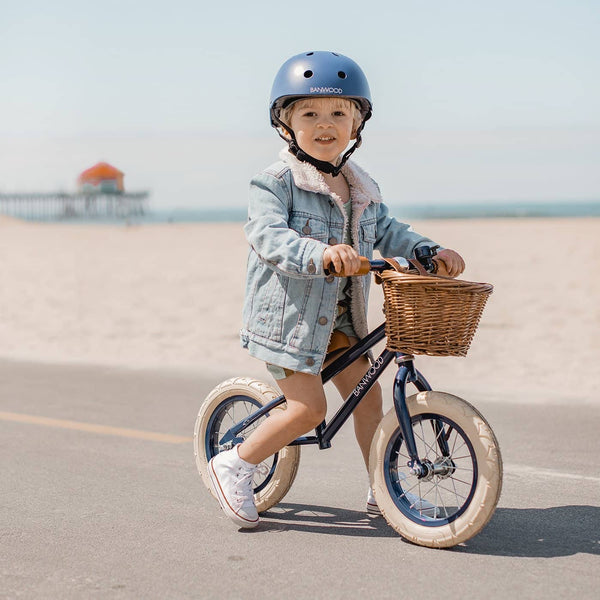 Banwood First Go Balance Bike - Navy Blue, Balance Bike, Banwood - All Mamas Children