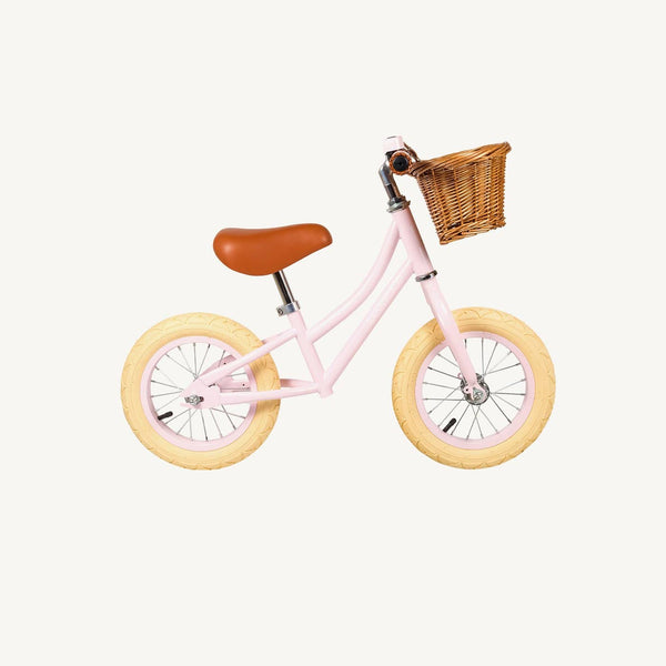 Banwood First Go Balance Bike - Pink, Balance Bike, Banwood - All Mamas Children