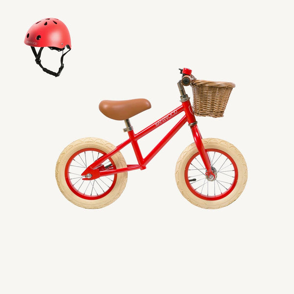 Banwood Helmet in Red, Balance Bike, Banwood - All Mamas Children