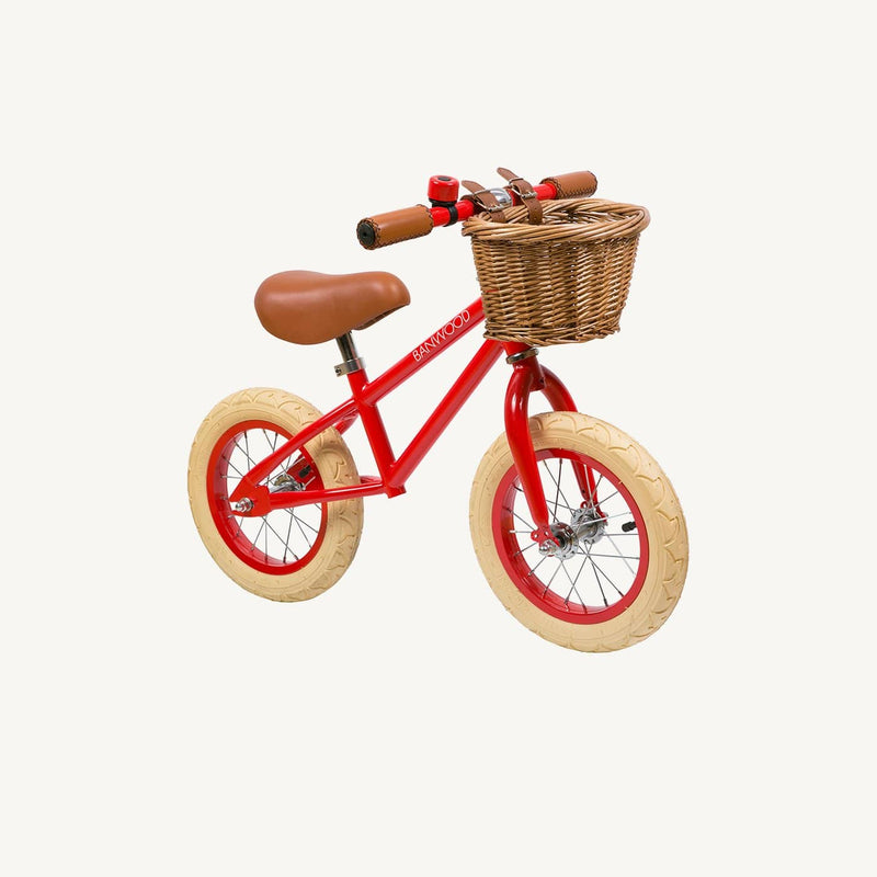 Banwood First Go Balance Bike - Red, Balance Bike, Banwood - All Mamas Children
