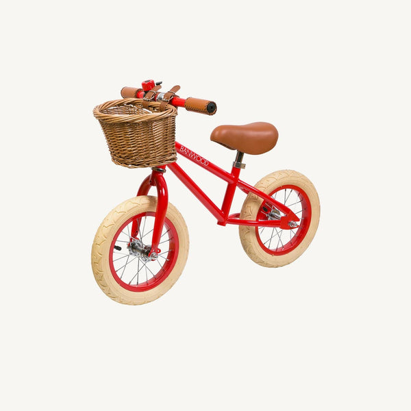 Banwood First Go Balance Bike - Red - All Mamas Children