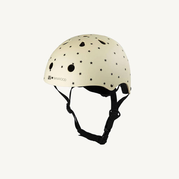 Banwood Helmet in Bonton Cream / Vanilla, Balance Bike, Banwood - All Mamas Children