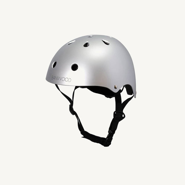 Banwood Helmet in Chrome, Balance Bike, Banwood - All Mamas Children