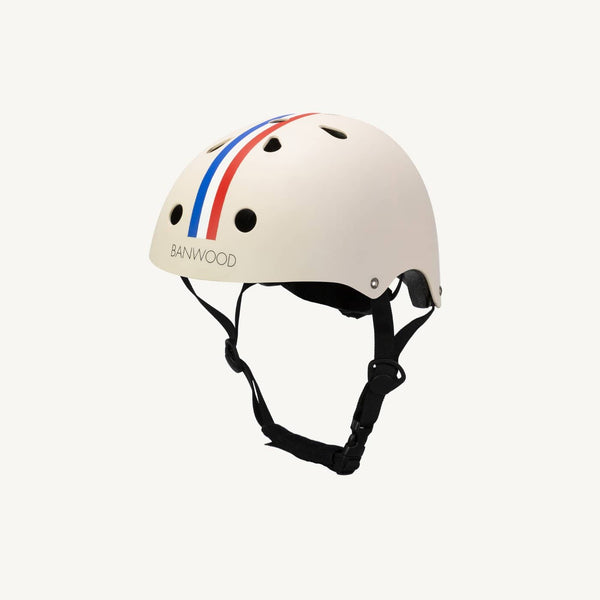 Banwood Helmet in Retro Stripes