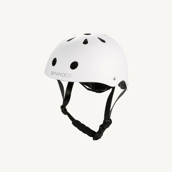 Banwood Helmet in White, Balance Bike, Banwood - All Mamas Children