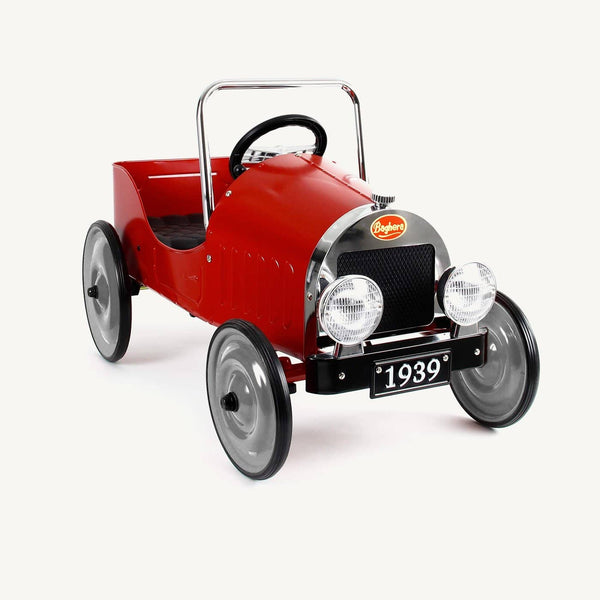 Baghera Classic Red Pedal Car, Pedal Car, Baghera - All Mamas Children