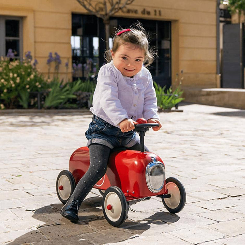 Baghera Racer Ride On - Red / Rouge, Ride On, Baghera - All Mamas Children