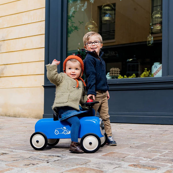 Baghera Racer Ride On - Blue / Bleu, Ride On, Baghera - All Mamas Children