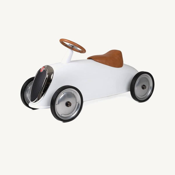 Baghera Rider - Elegant / White, Ride On, Baghera - All Mamas Children