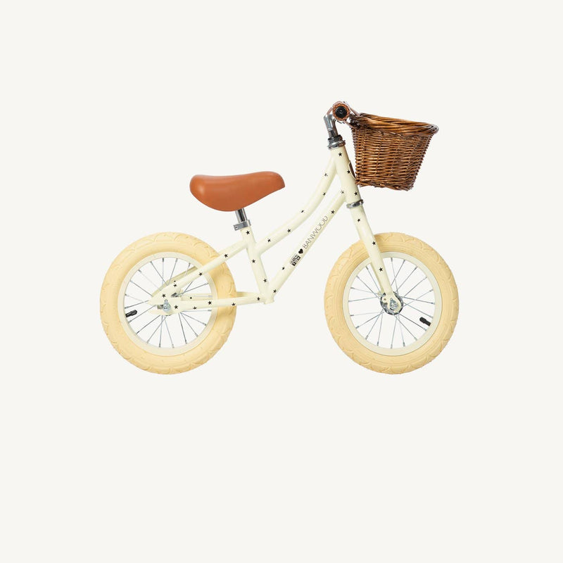 Banwood First Go Balance Bike - Bonton Cream Special Edition, Balance Bike, Banwood - All Mamas Children