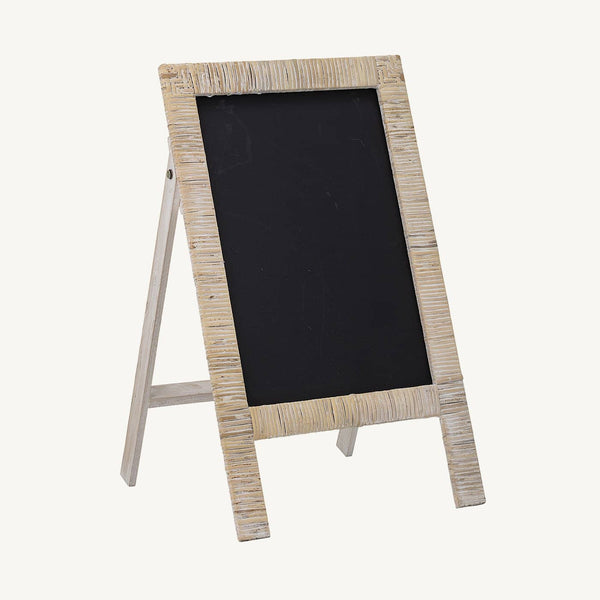 Bloomingville - Childrens Rattan Chalkboard, Chalkboard, Bloomingville - All Mamas Children