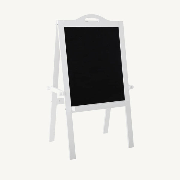 Bloomingville - Blackboard Easel With White Frame, Blackboard, Bloomingville - All Mamas Children