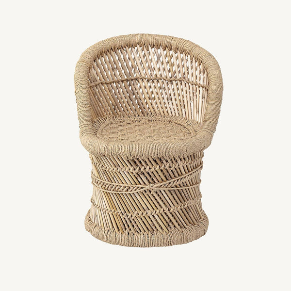 Bloomingville - Makoto Lounge Chair In Natural Bamboo - All Mamas Children