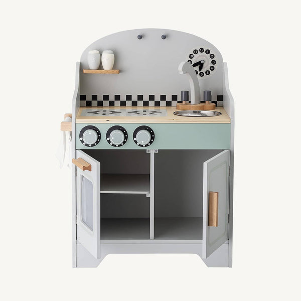 Bloomingville - Mini Stove Grey, Pretend Play, Bloomingville - All Mamas Children