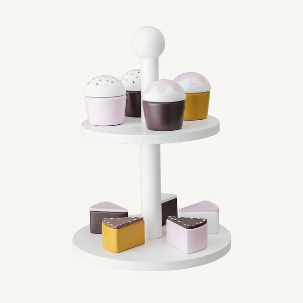 Bloomingville - Cake Stand With Cakes, Pretend Play, Bloomingville - All Mamas Children