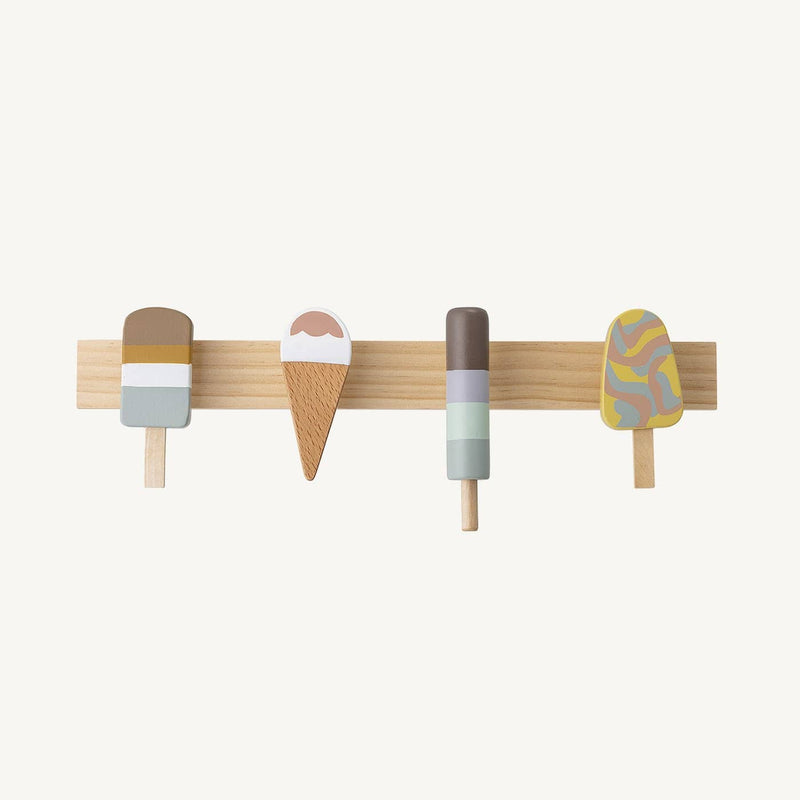 Bloomingville - Multi-Colour Ice Cream Coat Rack - All Mamas Children