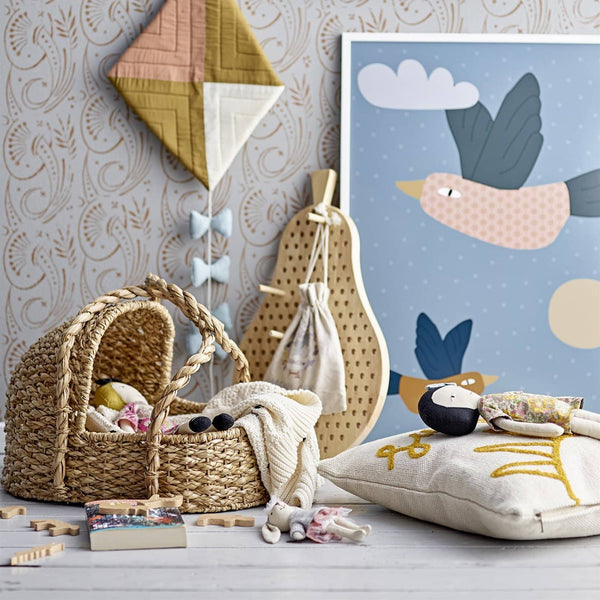 Bloomingville - Dolls Bed / Moses Basket, Dolls Bed, Bloomingville - All Mamas Children