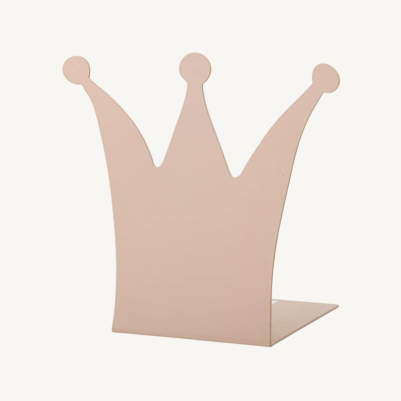 Bloomingville - Crown Bookend Pink, Furniture, Bloomingville - All Mamas Children