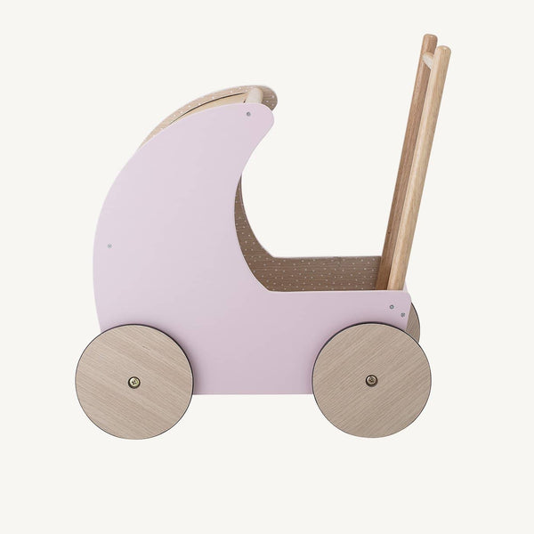 Bloomingville - Dolls Pram Pink, Dolls Pram, Bloomingville - All Mamas Children