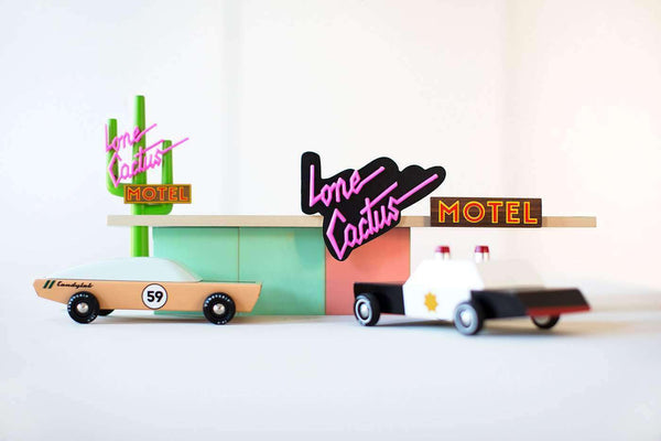 Candylab - Lone Cactus Motel Sign, Play Set, Candylab - All Mamas Children
