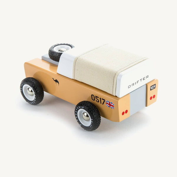Candylab - Drifter Sahara - Tan Canvas, Car, Candylab - All Mamas Children
