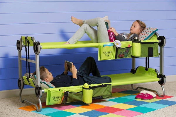 Kid-O-Bunk Kids Camping Bunk Bed - Green, Camping Bunk Bed, Kid-O-Bunk - All Mamas Children
