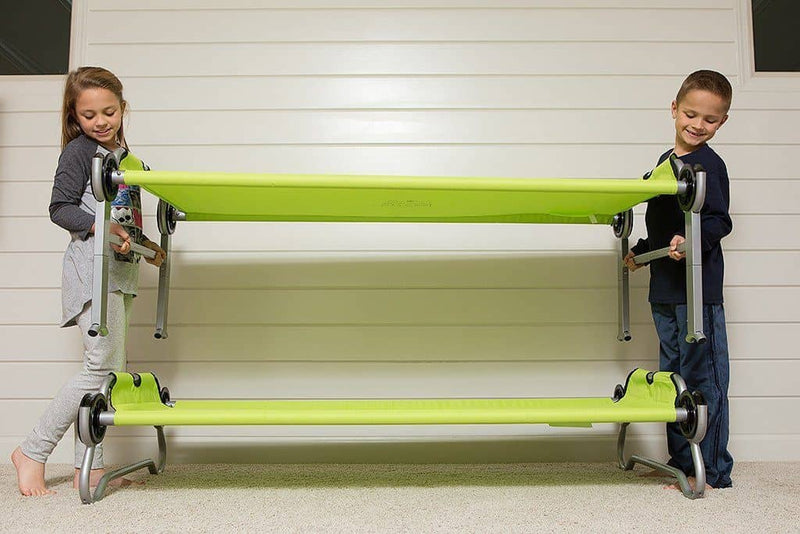 Discobeds Kid-O-Bunk Kids Camping Bunk Bed - Green, Camping Bunk Bed, Kid-O-Bunk - All Mamas Children