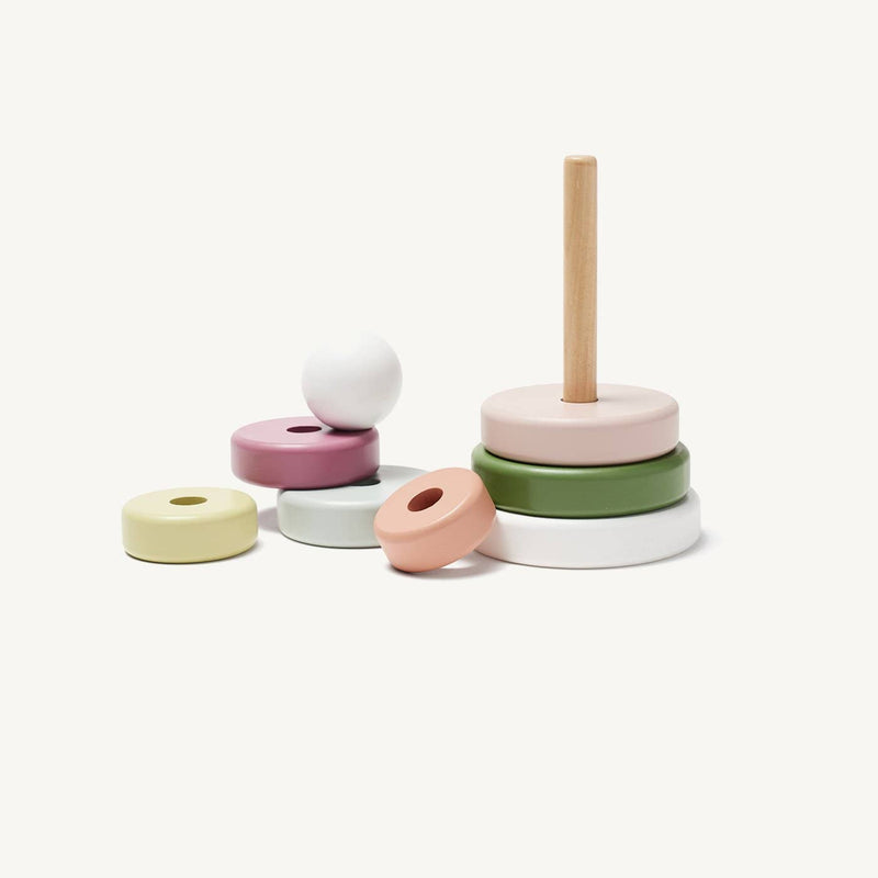 Kid's Concept - Edvin Wooden Stacking Toy, Stacking Toy, Kids Concept - All Mamas Children