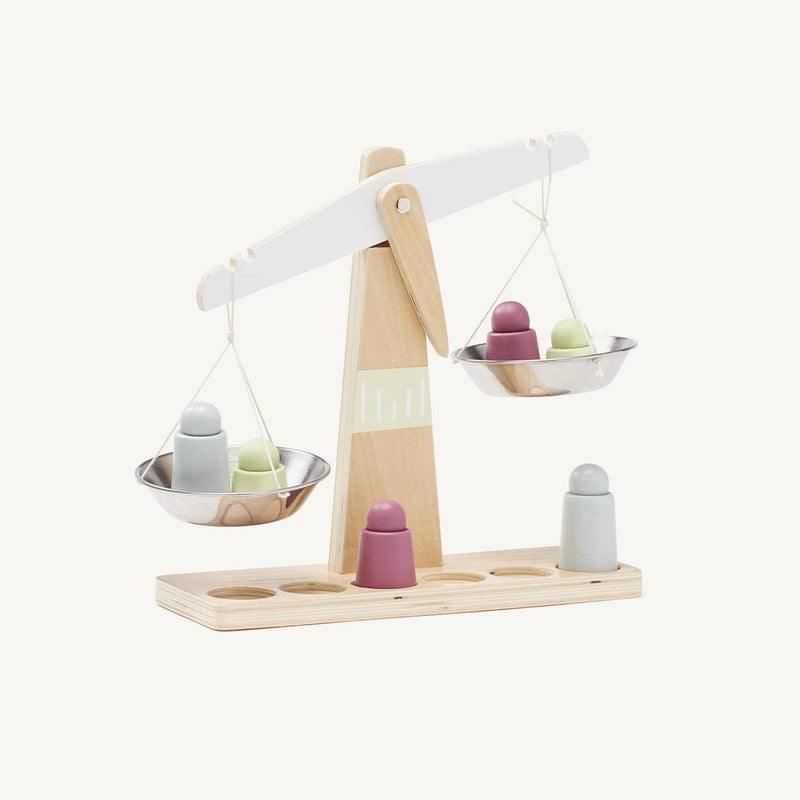 Kid's Concept - Bistro Wooden Toy Scales, Kitchen Toys, Kids Concept - All Mamas Children