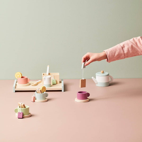 Kid's Concept - Bistro Wooden Tea Set - All Mamas Children