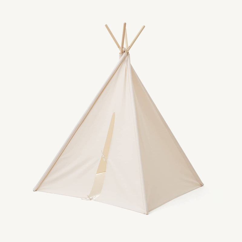 Kid's Concept - Tipi Play Tent Off White, Play Tent, Kids Concept - All Mamas Children