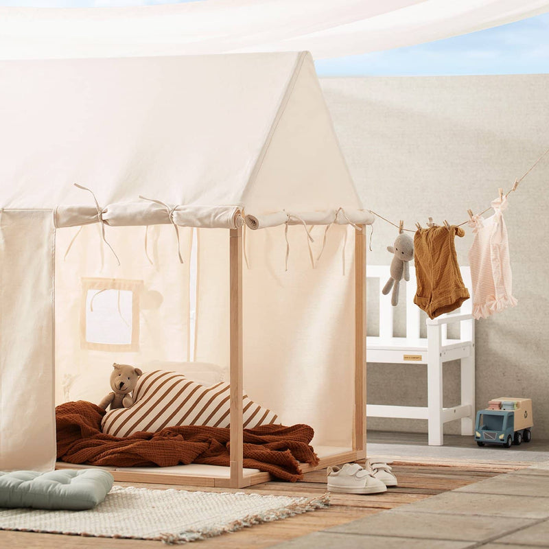 Kid's Concept - Play House Tent Off White, Play Tent, Kids Concept - All Mamas Children