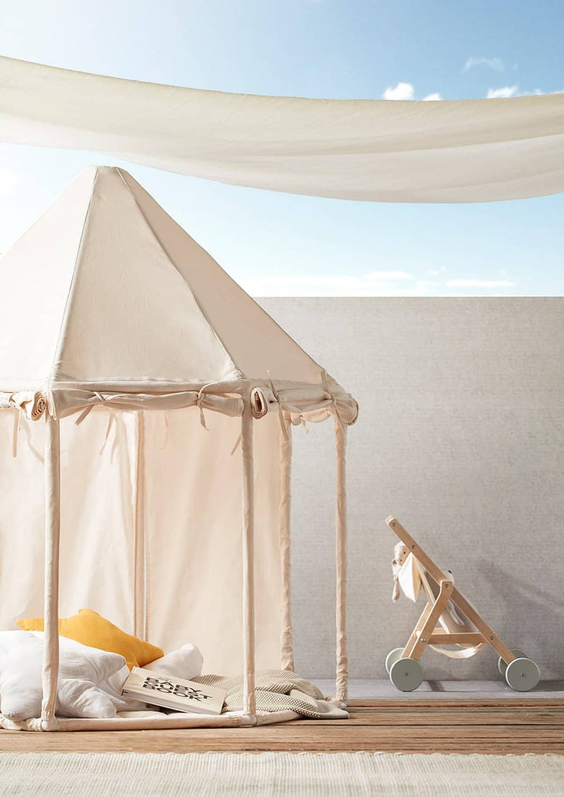 Kid's Concept - Pavilion Play Tent Off White, Play Tent, Kids Concept - All Mamas Children