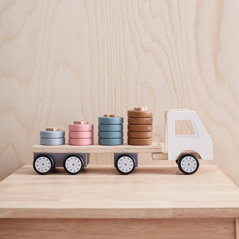 Kid's Concept - AIDEN Stacking Ring Truck, Puzzle, Kids Concept - All Mamas Children