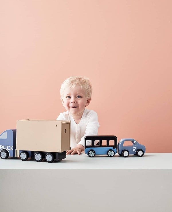 AIDEN Wooden City Bus, Play Set, Kids Concept - All Mamas Children
