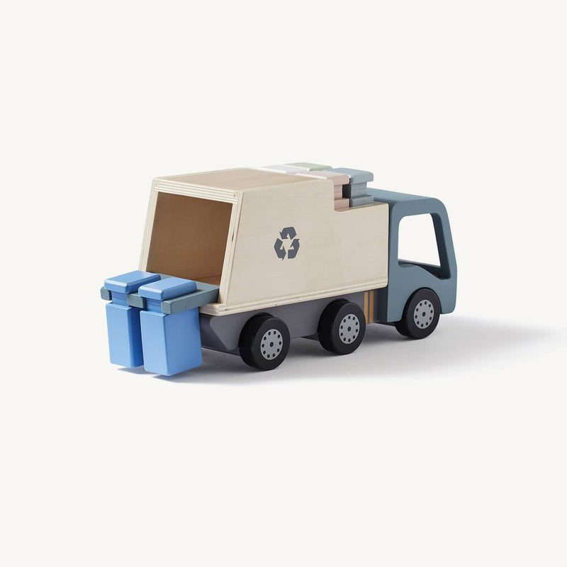 Kid's Concept - AIDEN Wooden Garbage Truck, Play Set, Kids Concept - All Mamas Children