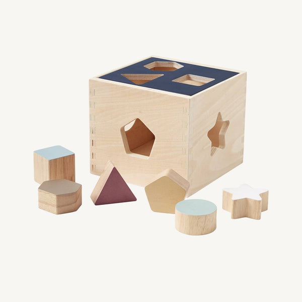 Kid's Concept - Aiden Wooden Shape Sorter Box, Puzzle, Kids Concept - All Mamas Children