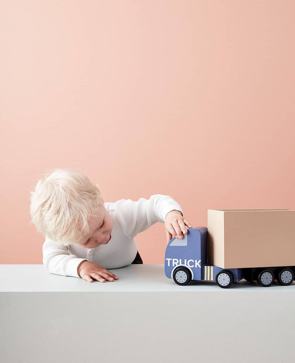 AIDEN Large Wooden Truck, Play Set, Kids Concept - All Mamas Children