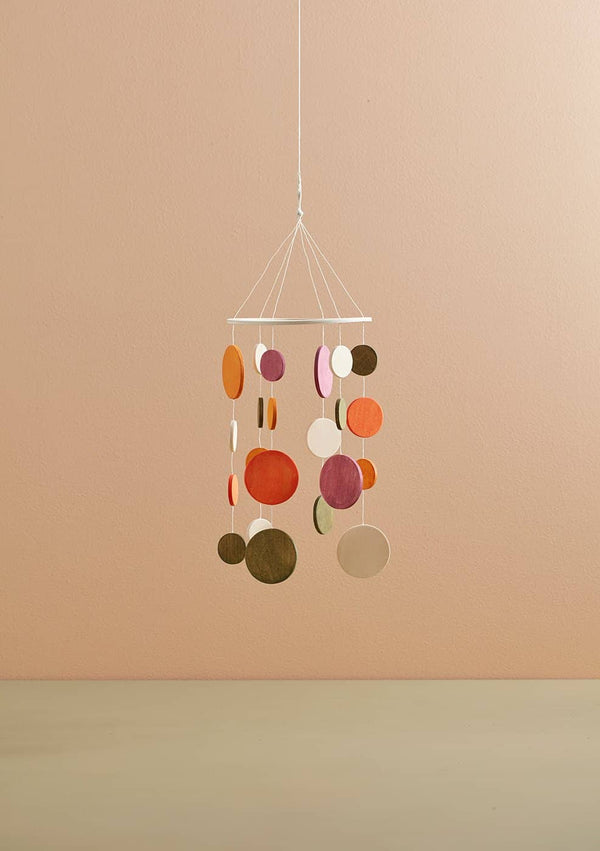 Kid's Concept - Wooden Baby Mobile Orange - All Mamas Children