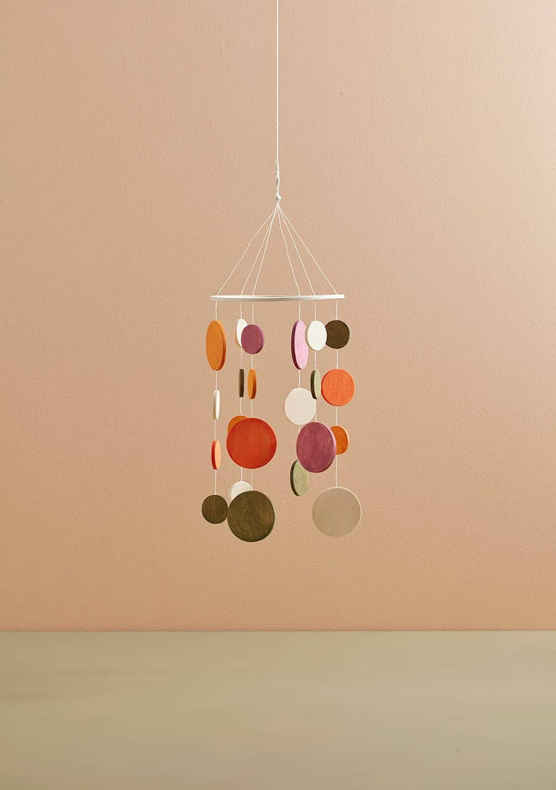Kid's Concept - Wooden Baby Mobile Orange, Baby Mobile, Kids Concept - All Mamas Children