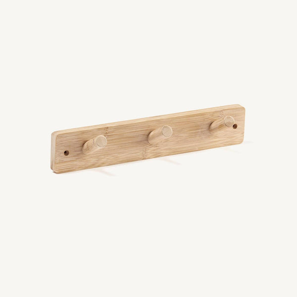 Kid's Concept - Bamboo Hook Board (3 peg), Shelf, Kids Concept - All Mamas Children