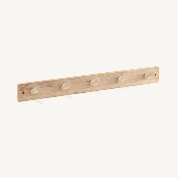 Kid's Concept - Bamboo Hook Board (5 peg), Shelf, Kids Concept - All Mamas Children