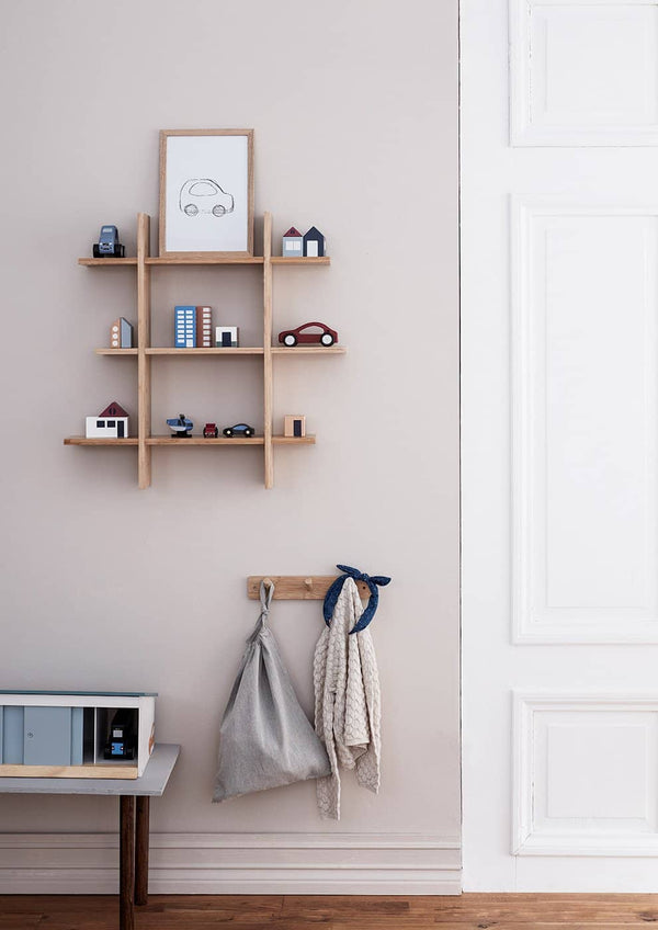 Kid's Concept - Bamboo Wall Shelf, Shelf, Kids Concept - All Mamas Children