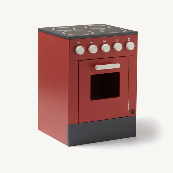 Kid's Concept - Bistro Stove in Red, Kitchen Toys, Kids Concept - All Mamas Children