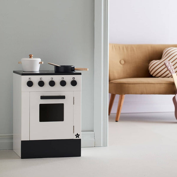 Kid's Concept - Bistro Stove in White, Kitchen Toys, Kids Concept - All Mamas Children