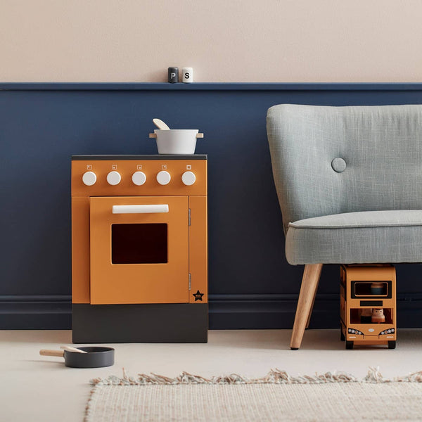 Kid's Concept - Bistro Stove in Yellow - All Mamas Children